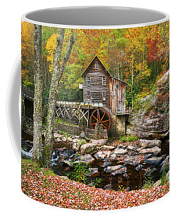 Mill At Babcock State Park Coffee Mug