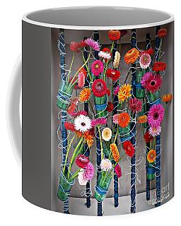 Coffee Mug featuring the photograph Millefiori by AmaS Art