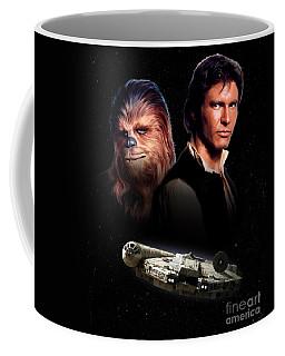 Han Solo - Millenium Falcon Coffee Mug