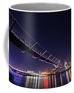 Coffee Mug featuring the photograph Millennium Bridge London  by Mariusz Czajkowski