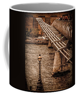 London, England - Millennium Bridge Coffee Mug