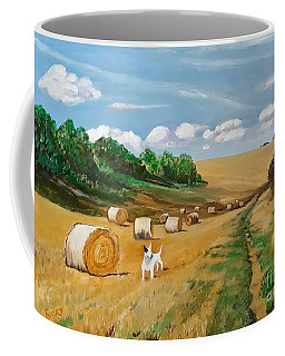 Millie's Day Out - Painting  Coffee Mug
