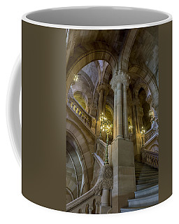 Coffee Mug featuring the photograph Million Dollar Staircase by Brad Wenskoski