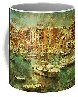 Coffee Mug featuring the digital art Millionaire's Playground by Leigh Kemp