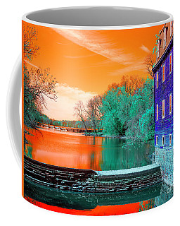 Millstone River Pop Art Coffee Mug by John Rizzuto