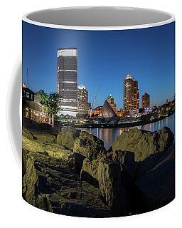Milwaukee At The Lake Coffee Mug