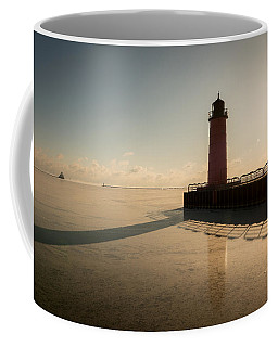 Milwaukee Frozen Lighhtouse Coffee Mug