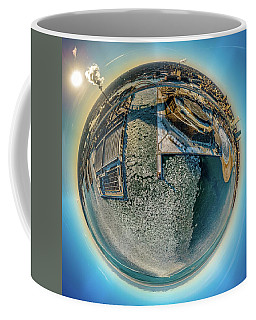 Milwaukee Pierhead Light Little Planet Coffee Mug