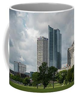 Milwaukee Skyline From Veterans Park 3 Coffee Mug