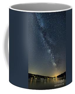 Milky Way From A Pontoon Boat Coffee Mug