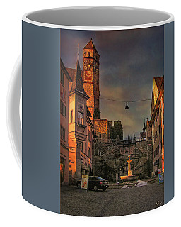 Coffee Mug featuring the photograph Main Square by Hanny Heim