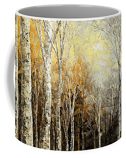 Coffee Mug featuring the painting Mindful Melodies by Tatiana Iliina