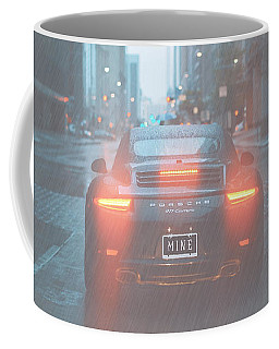 Coffee Mug featuring the photograph Mine In The Rain by Ericamaxine Price