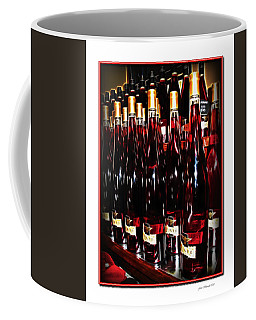 Coffee Mug featuring the photograph Miner Pink Sparkling Wine by Joan  Minchak