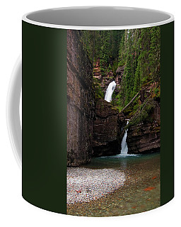 Coffee Mug featuring the photograph Mineral Creek Falls by Steve Stuller