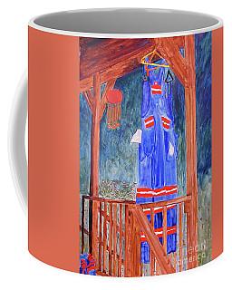 Miner's Overalls Coffee Mug by Sandy McIntire