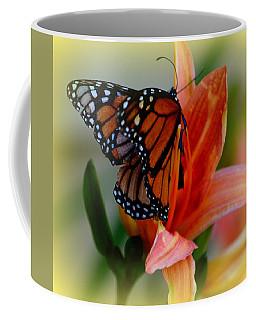 Mingle With A Monarch Coffee Mug
