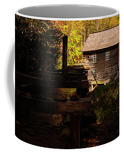 Coffee Mug featuring the photograph Mingus Mill 1 by Chris Flees
