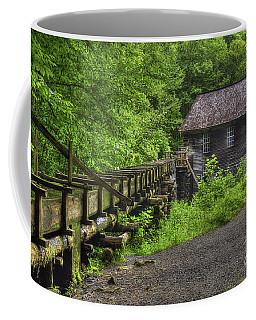 Coffee Mug featuring the photograph Mingus Mill 2 Mingus Creek Great Smoky Mountains Art by Reid Callaway
