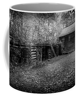 Mingus Mill Black And White Coffee Mug