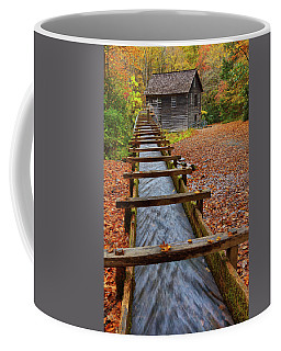 Mingus Mill In Fall Coffee Mug