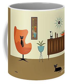 Coffee Mug featuring the digital art Mini Gravel Art 3 by Donna Mibus