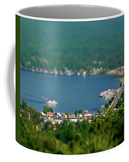 Coffee Mug featuring the photograph Mini-ha-ha by Brad Wenskoski