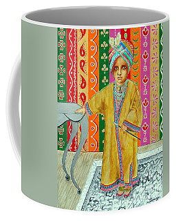 Mini Maharajah -- Revised -- 3-yr-old Indian Monarch Coffee Mug