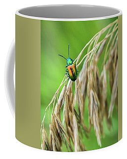 Coffee Mug featuring the photograph Mini Metallic Magnificence  by Bill Pevlor