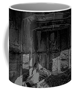Mini Urbex Coffee Mug by Keith Elliott