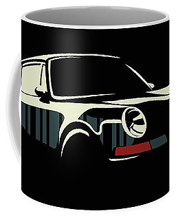 Minimalist Porsche Coffee Mug