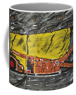 Coal Mining  Coffee Mug by Jeffrey Koss