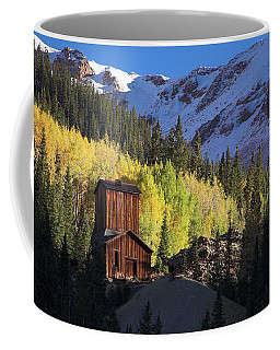 Coffee Mug featuring the photograph Mining Ruins by Steve Stuller