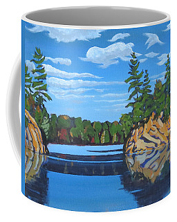 Mink Lake Gap Coffee Mug