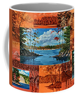 Mink Lake Looking North West Coffee Mug