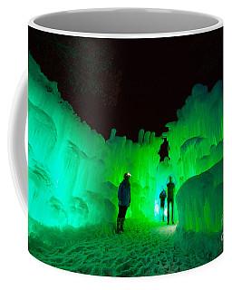 Ice Castles Of Minnesota Coffee Mug