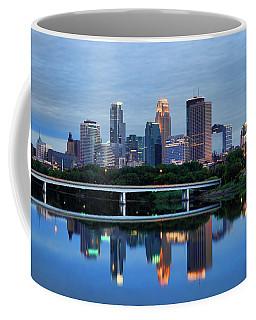 Minneapolis Reflections Coffee Mug by Rick Berk