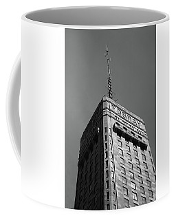 Coffee Mug featuring the photograph Minneapolis Tower 6 Bw by Frank Romeo