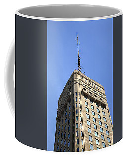Coffee Mug featuring the photograph Minneapolis Tower 6 by Frank Romeo
