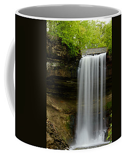 Minnehaha Falls Coffee Mug by Tiffany Erdman