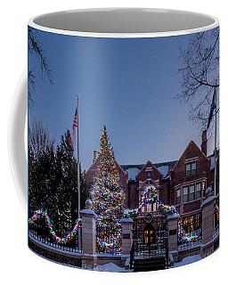 Christmas Lights Series #6 - Minnesota Governor's Mansion Coffee Mug
