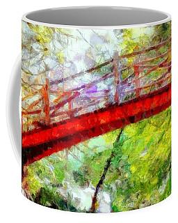 Minnewaska Wooden Bridge Coffee Mug