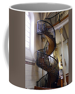 Coffee Mug featuring the photograph Miraculous Stairs by Kurt Van Wagner