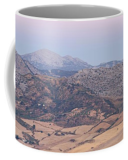Mirador De Ronda At Dawn Coffee Mug