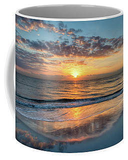 Coffee Mug featuring the photograph Mirror At Sunrise by Debra and Dave Vanderlaan
