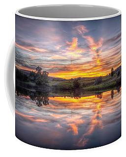 Mirror Lake Sunset Coffee Mug