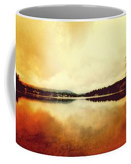 Mirror Lake At Sunset Coffee Mug