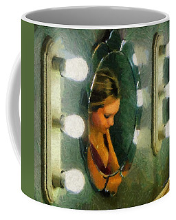 Mirror Mirror On The Wall Coffee Mug by Jeff Kolker