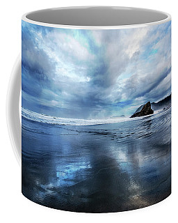 Coffee Mug featuring the photograph Mirror Of Light by Debra and Dave Vanderlaan
