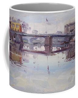 Mirror Reflection Of Gateway Harbor Coffee Mug